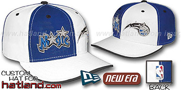 Magic 'DOUBLE WHAMMY' Royal-White Fitted Hat