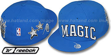 Magic 'ELEMENTS' Fitted Hat by Reebok - royal