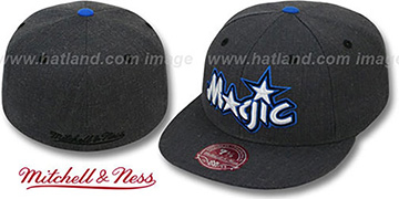 Magic GREY HEDGEHOG Fitted Hat by Mitchell & Ness