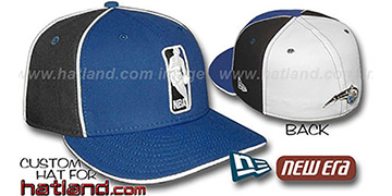 Magic LOGOMAN-2 Royal-Black-White Fitted Hat by New Era