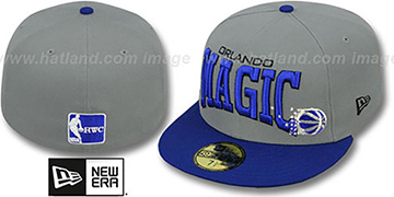 Magic 'PRO-ARCH' Grey-Blue Fitted Hat by New Era