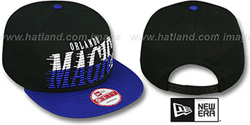 Magic 'SAILTIP SNAPBACK' Black-Blue Hat by New Era