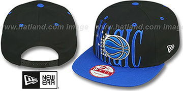 Magic 'STEP-ABOVE SNAPBACK' Black-Blue Hat by New Era