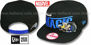 Magic TEAM-HERO SNAPBACK Black Hat by New Era