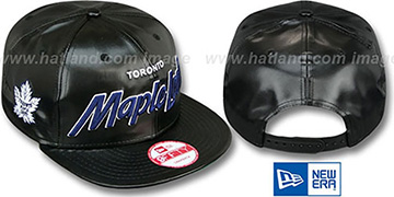 Maple Leafs 'REDUX SNAPBACK' Black Hat by New Era