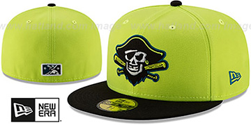 Marauders COPA Yellow-Black Fitted Hat by New Era