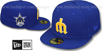 Mariners 1979 'SIDE ALL-STAR-PATCH' Fitted Hat by New Era
