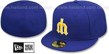 Mariners '1977-80 COOPERSTOWN' Fitted Hat by New Era