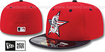 Mariners '2014 JULY 4TH STARS N STRIPES' Hat by New Era