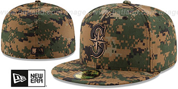 Mariners 2016 MEMORIAL DAY 'STARS N STRIPES' Hat by New Era