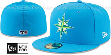 Mariners '2017 MLB LITTLE-LEAGUE' Blue Fitted Hat by New Era
