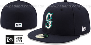 Mariners '2017 ONFIELD GAME' Hat by New Era