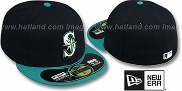 Mariners 'PERFORMANCE ALTERNATE' Hat by New Era
