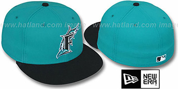 Marlins 1995 COOP 'ROAD' Fitted Hat by New Era
