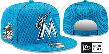 Marlins '2017 MLB HOME RUN DERBY SNAPBACK' Blue Hat by New Era