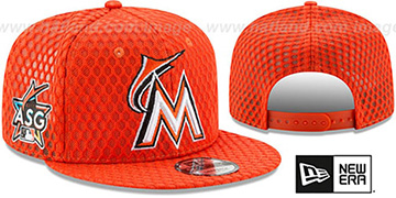 Marlins '2017 MLB HOME RUN DERBY SNAPBACK' Orange Hat by New Era
