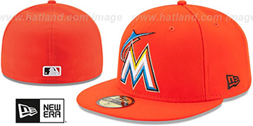 Marlins '2017 ONFIELD ROAD' Hat by New Era