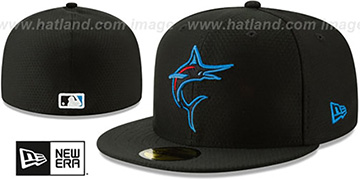 Marlins '2019 AC-BATTING PRACTICE' Hat by New Era