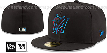 Marlins AC-ONFIELD GAME Hat by New Era
