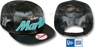 Marlins REDUX SNAPBACK Black Hat by New Era