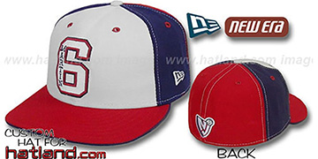 Martin PINWHEEL White-Navy-Red Fitted Hat by New Era