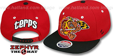 Maryland '2T FLAGRUNNER SNAPBACK' Red-Black Hat by Zephyr