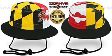 Maryland 'FLAG STRING BUCKET' Hat by Zephyr