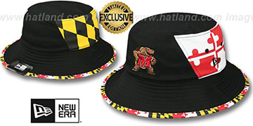 Maryland 'PANEL MARYLAND FLAG BUCKET' Hat by New Era