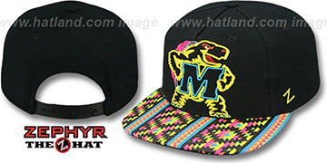 Maryland 'RAVE-2 SNAPBACK' Black Hat by Zephyr