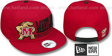 Maryland RETRO-SNAPBACK Red Hat by New Era