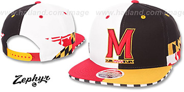 Maryland SPLIT DECISION SNAPBACK Multi Hat by Zephyr