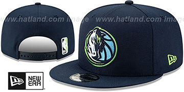 Mavericks 19-20 CITY-SERIES ALTERNATE SNAPBACK Navy Hat by New Era