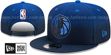 Mavericks BACK HALF FADE SNAPBACK Hat by New Era