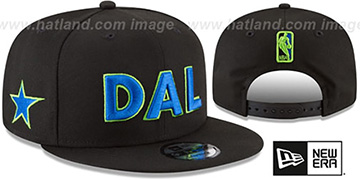 Mavericks CITY-SERIES SNAPBACK Black Hat by New Era