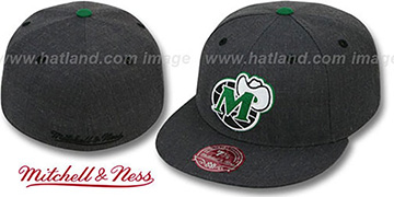 Mavericks 'GREY HEDGEHOG' Fitted Hat by Mitchell & Ness