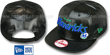 Mavericks 'REDUX SNAPBACK' Black Hat by New Era