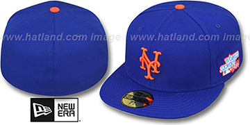 Mets 1986 'WORLD SERIES CHAMPS' GAME Hat by New Era