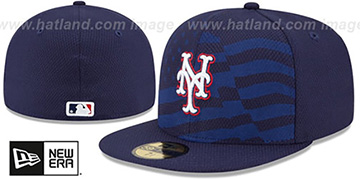 Mets '2015 JULY 4TH STARS N STRIPES' Hat by New Era