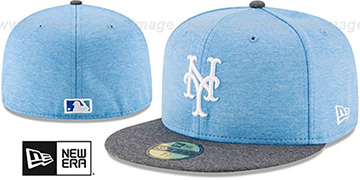 Mets '2017 FATHERS DAY' Fitted Hat by New Era
