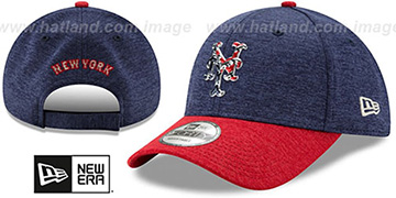 Mets '2017 JULY 4TH STARS N STRIPES STRAPBACK' Hat by New Era