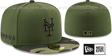 Mets 2017 MEMORIAL DAY 'STARS N STRIPES' Hat by New Era