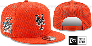 Mets '2017 MLB HOME RUN DERBY SNAPBACK' Orange Hat by New Era