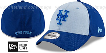 Mets 2018 FATHERS DAY FLEX Sky-Royal Hat by New Era