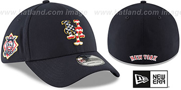 Mets 2018 JULY 4TH STARS N STRIPES FLEX Navy Hat by New Era