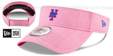 Mets 2018 MOTHERS DAY VISOR Heather Pink by New Era