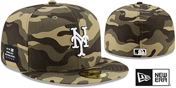 Mets 2021 ARMED FORCES STARS N STRIPES Hat by New Era