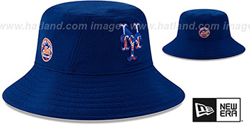 Mets DASHMARK BP BUCKET Hat by New Era