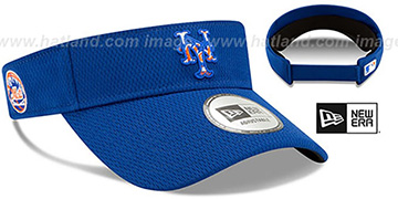 Mets DASHMARK BP VISOR Royal by New Era