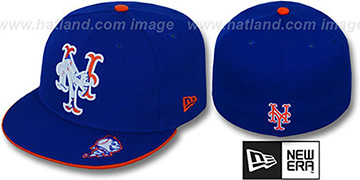 Mets INSIDER BIG-ONE Royal Fitted Hat by New Era
