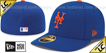 Mets '2017 LOW-CROWN ONFIELD GAME' Fitted Hat by New Era
